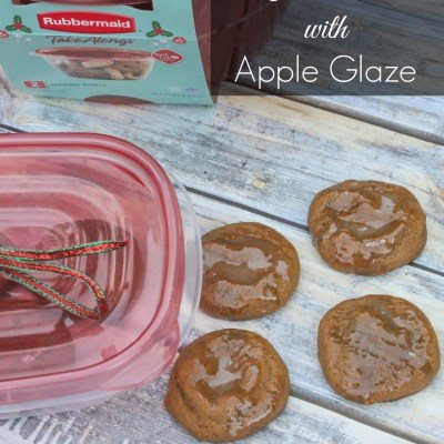 Ginger Cookies with Apple Glaze