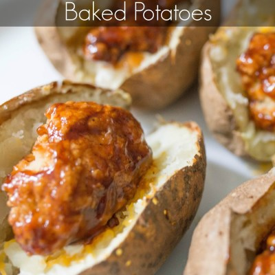 Barbecue Chicken Baked Potatoes