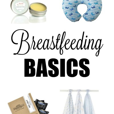 Breastfeeding Basics (featuring Boob Butter Coupon Code + Giveaway)