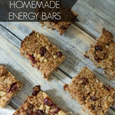 Homemade Energy Bars