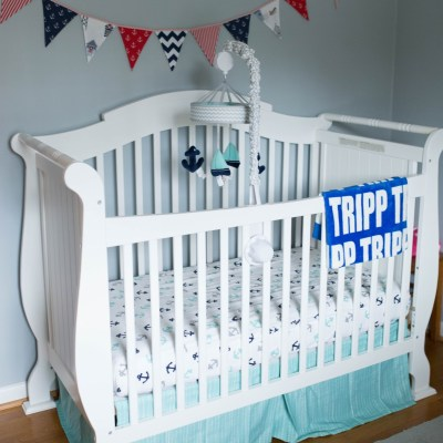 Nautical Nursery Details