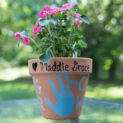 Weekend Recap + Teacher Gift Flower Pots