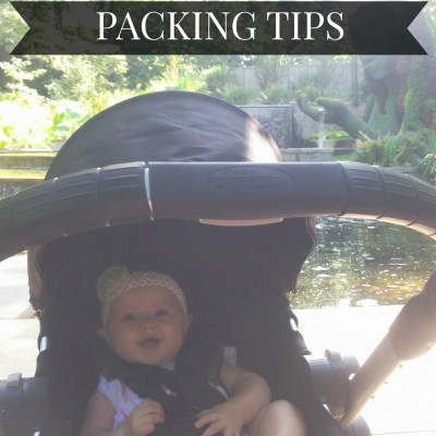 Traveling with Baby Packing Tips {Atlantic Luggage Sweepstakes}