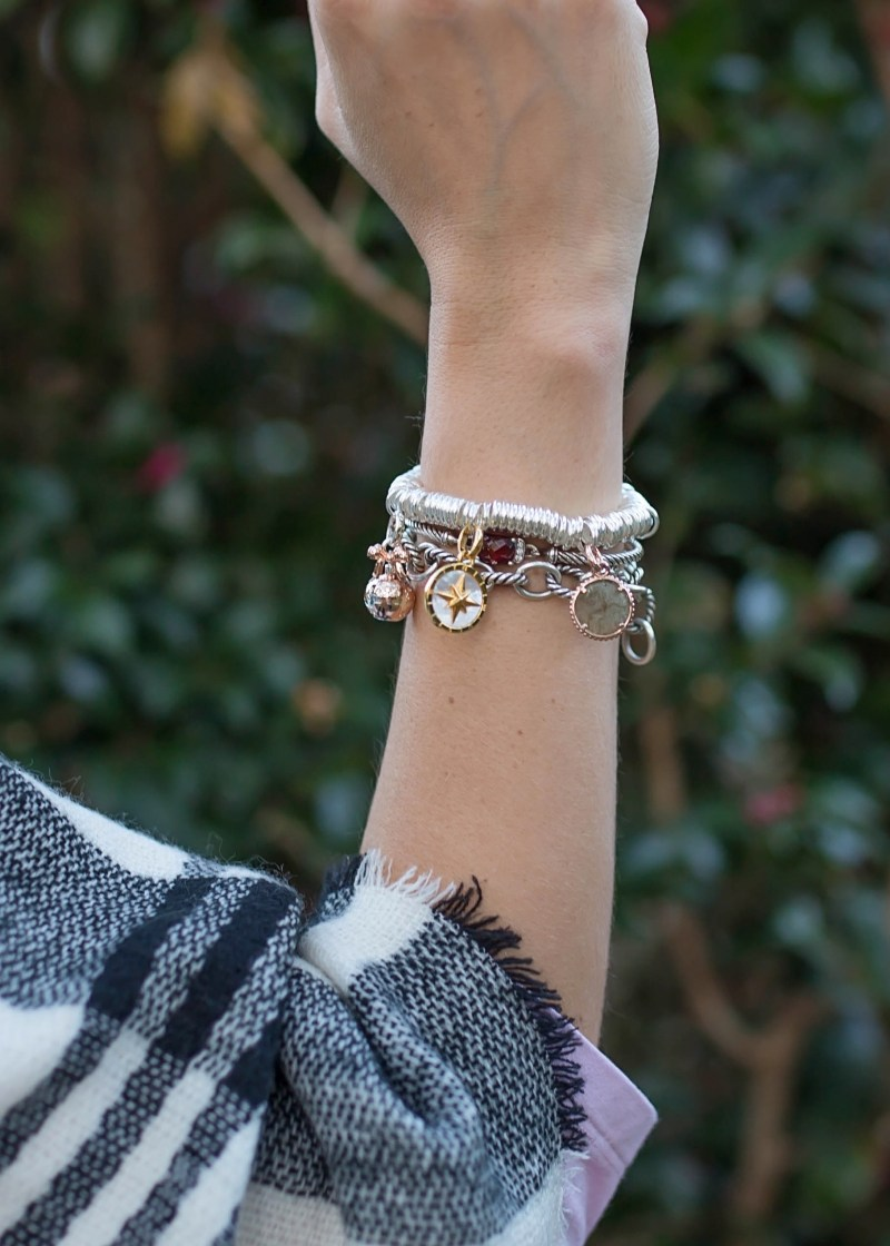 Links of London classy and modern charm bracelets