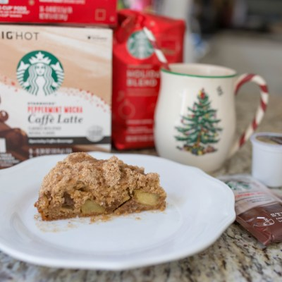 Moments of Joy: Cinnamon Apple Crumb Coffee Cake