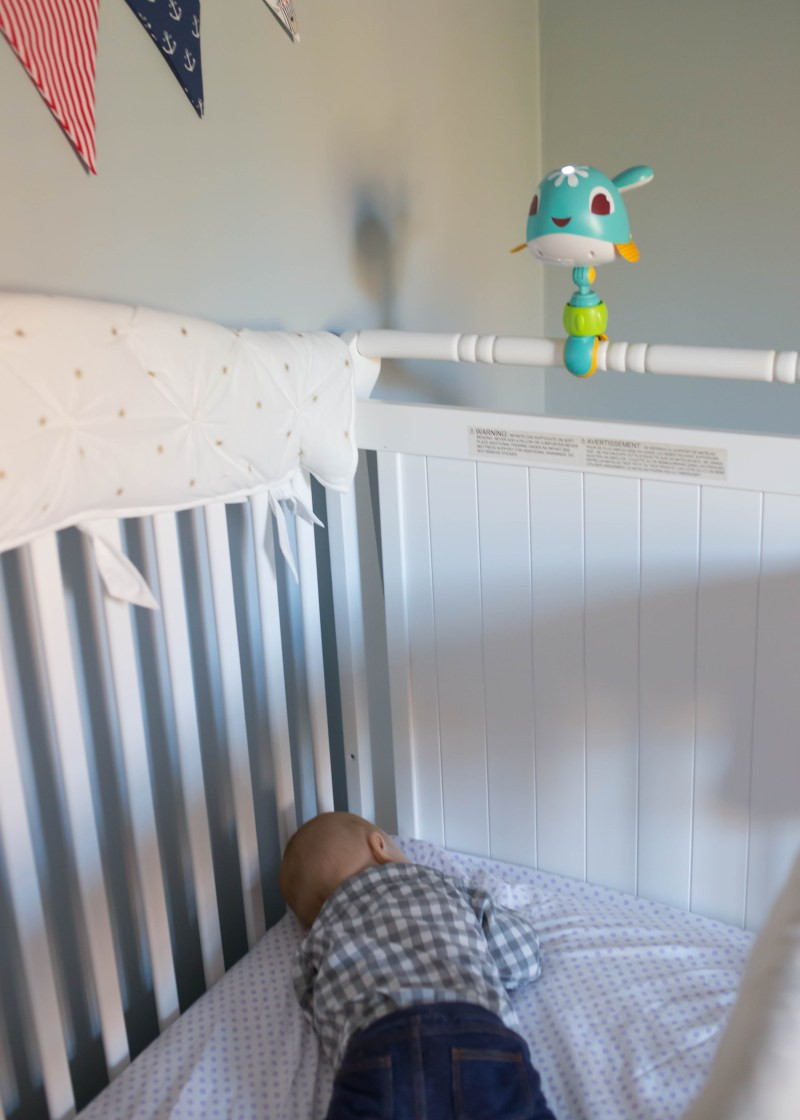 tips for getting baby to slip in crib