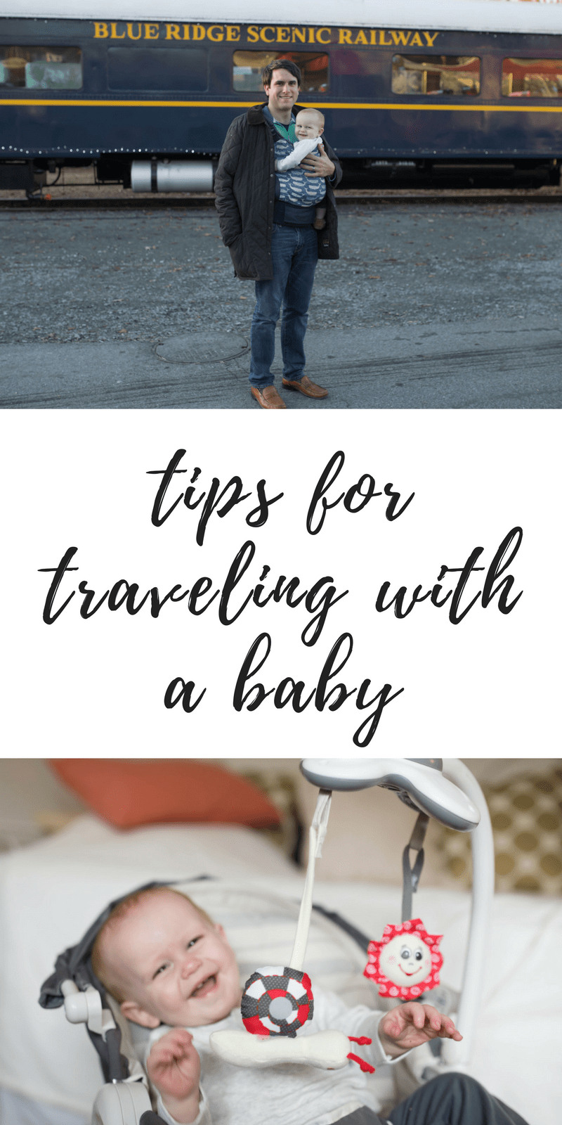 Tips for traveling witha  baby