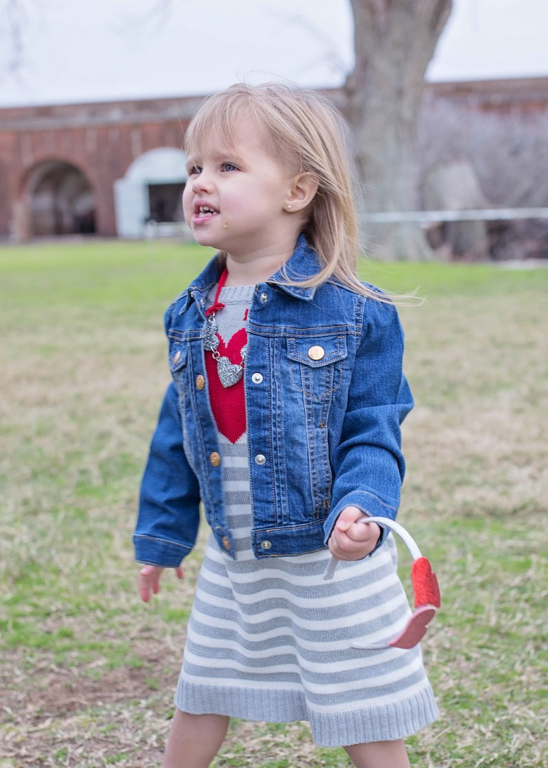 Valentines outfits for children from Crazy 8: toddler girl style and valentine's clothes