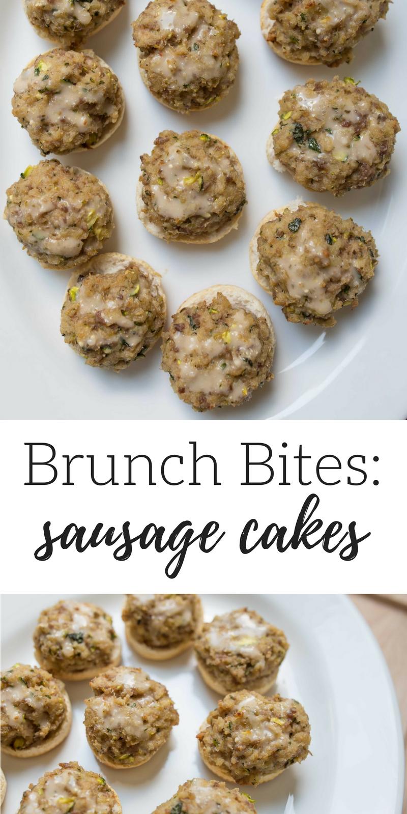 Sausage Cake Recipe by Atlanta blogger Casual Claire
