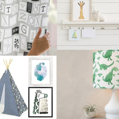 Creative Kids Room Decor with Minted