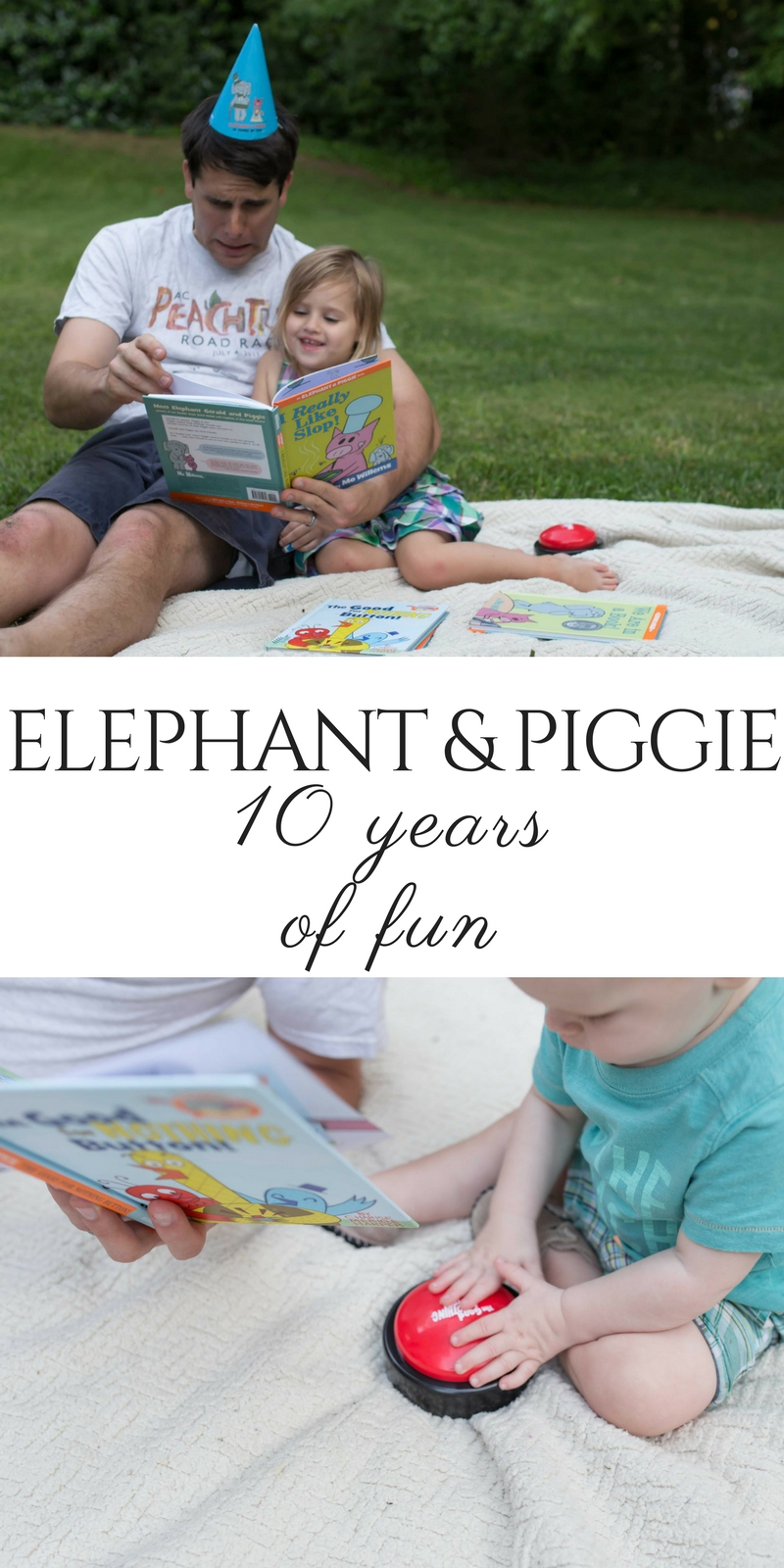 Elephant and Piggie: 10 Years of Fun Party by lifestyle blogger Casual Claire