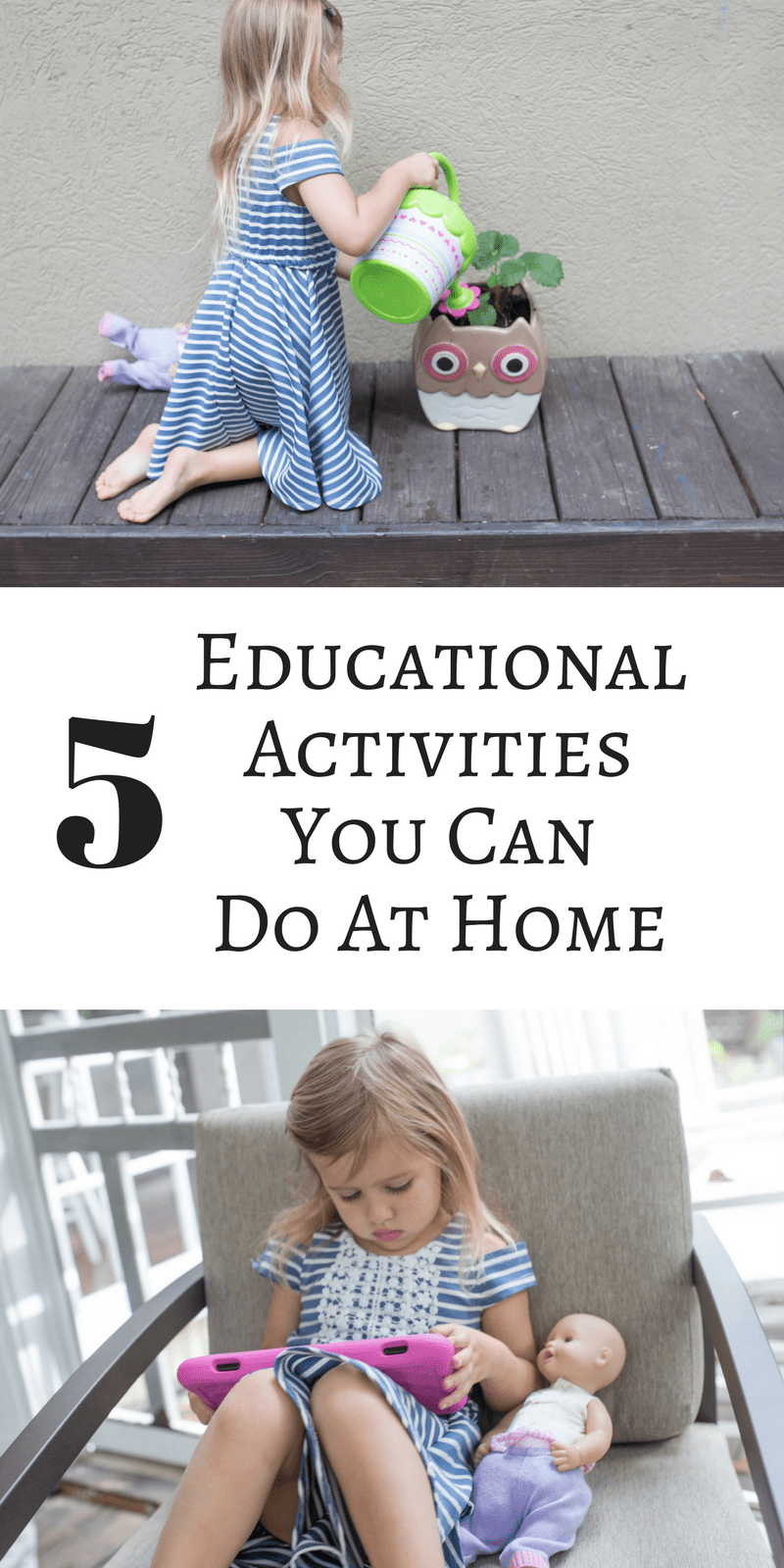 5 educational activities you can do at home