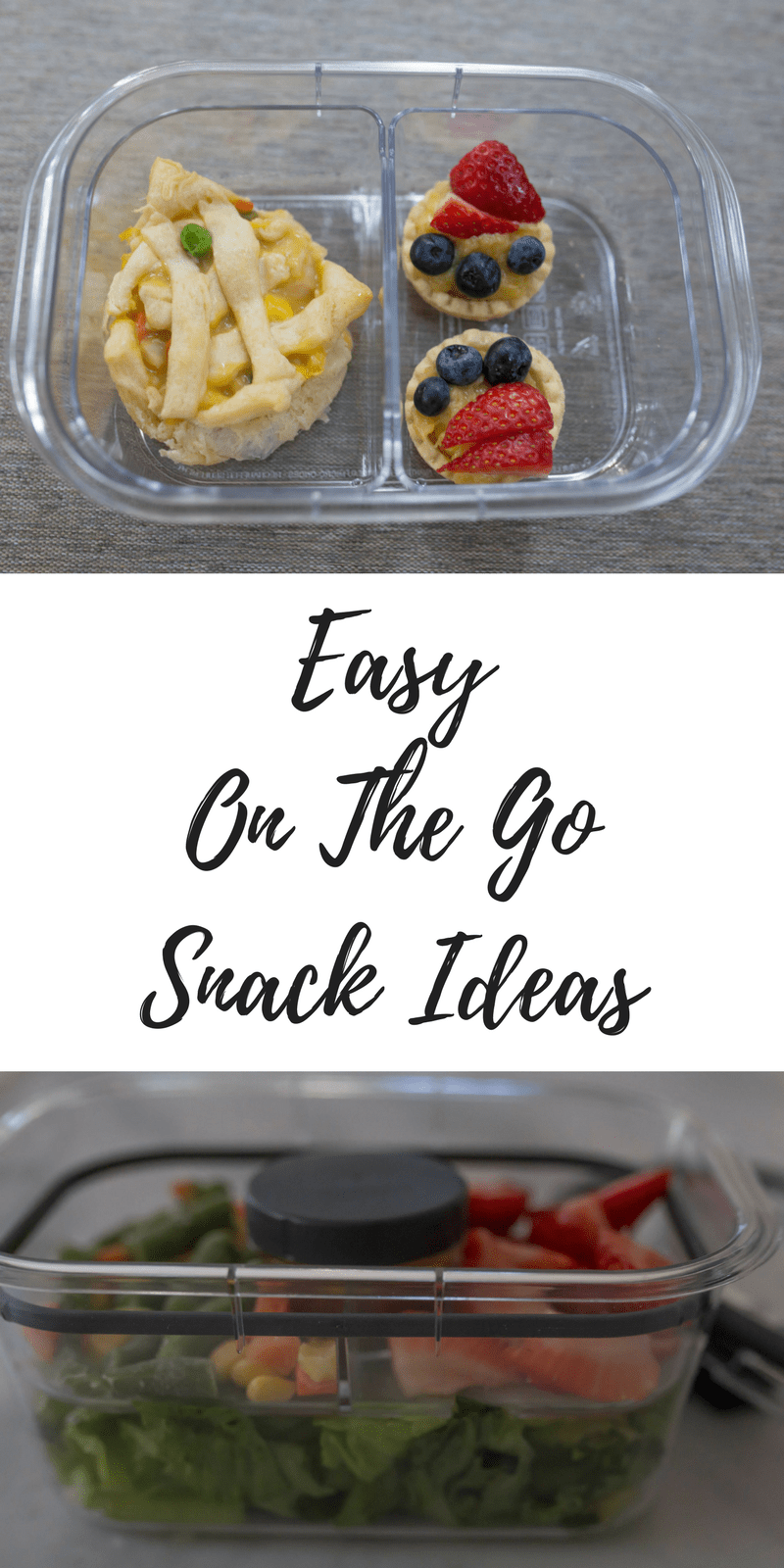 easy on the go snack ideas from lifestyle blogger casual claire