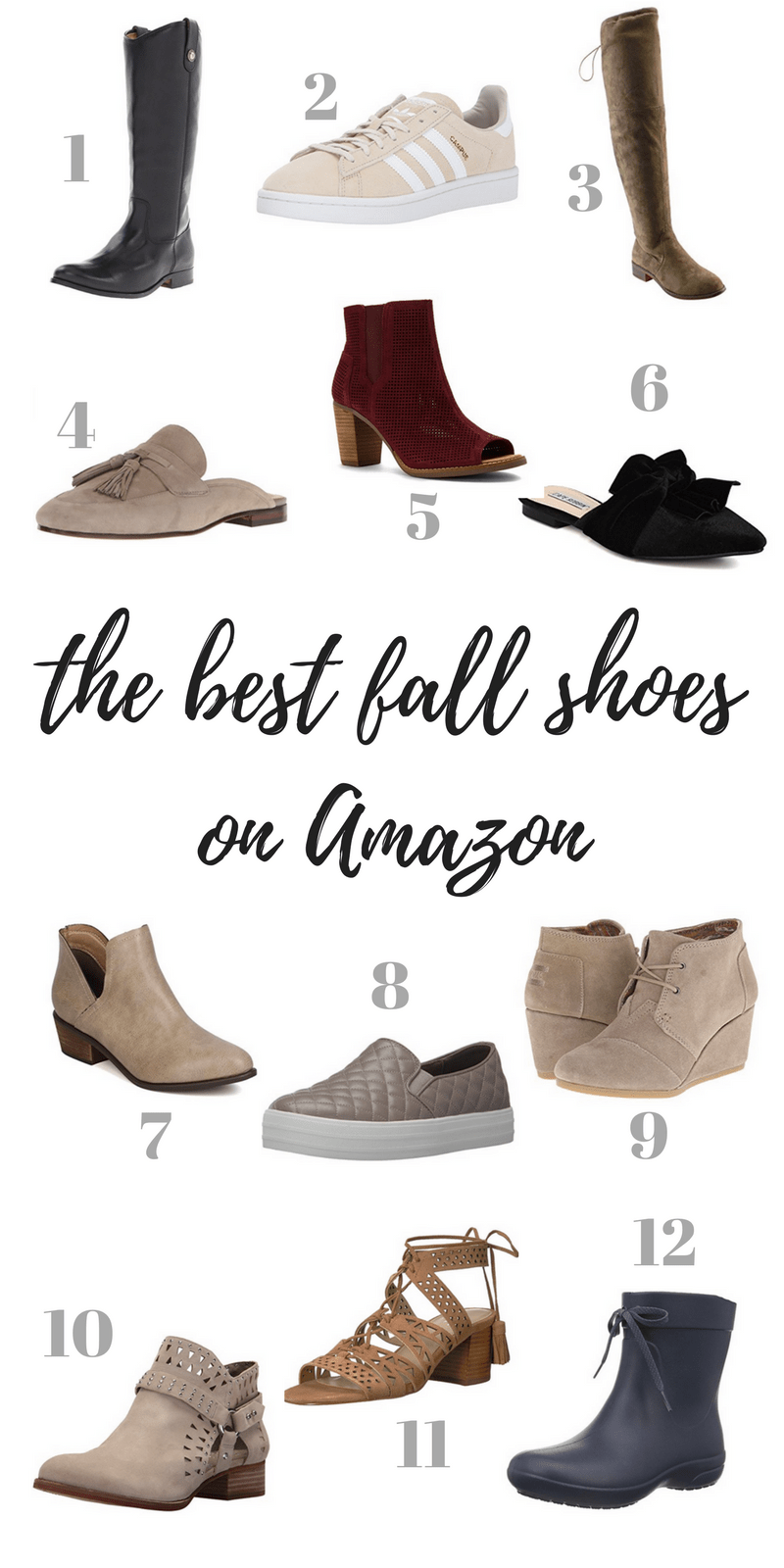 The Best Fall Shoes on Amazon - Casual