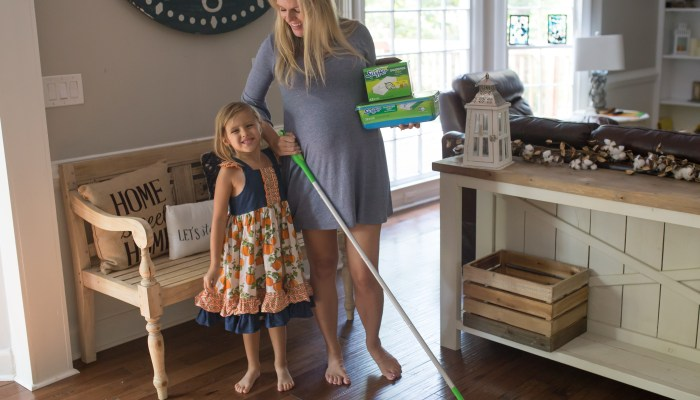 Tips for Keeping a Clean Floor with Baby
