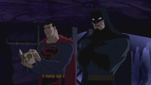 Superman And Batman-World's Finest Vs. The Centre!