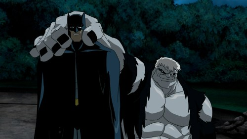 Batman-Under Solomon Grundy's Might!
