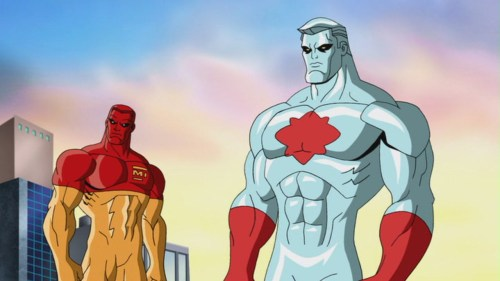 Captain Atom & Major Force-Both Of Whom Are Agents For The U.S. Government!