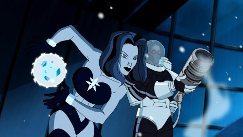 Killer Frost & Mr. Freeze-Half A Blizzard Of Present Baddies!