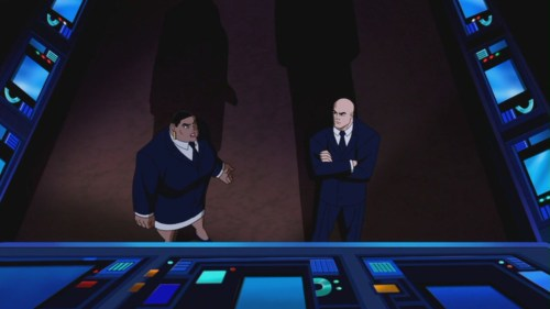 Lex Luthor & Amanda Waller-Discussing The Avertion Of Earth's Doom!
