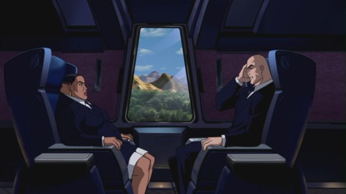 Lex Luthor & Amanda Waller-On Their Way To Save Earth!