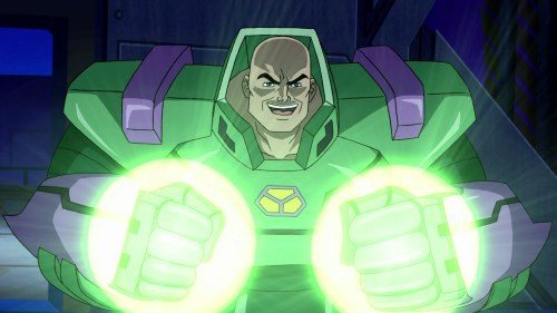 Lex Luthor-Crazed With Power!