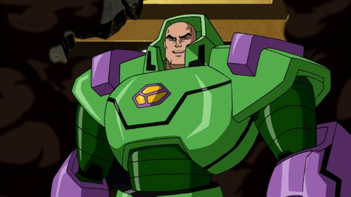 Lex Luthor-Drunk On Power, Kryptonite, And Insanity!
