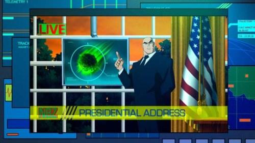 Lex Luthor-Informing The Public Of Pending Danger!