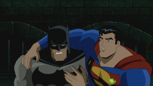 Superman & Batman-Both Very Banged Up!