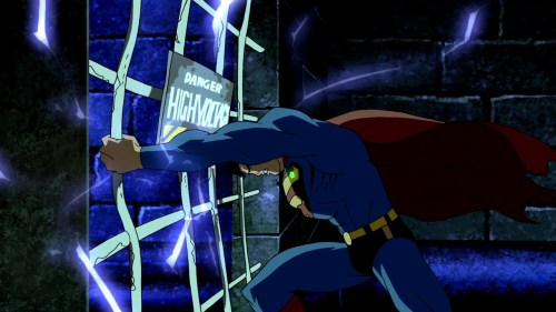 Superman-Necessary Bat Cave Break-In!