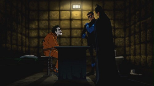 Batman & Nightwing-A Visit To Insanity Personified!