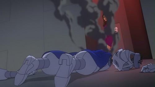 Lois Lane-Down Goes Robot-7!