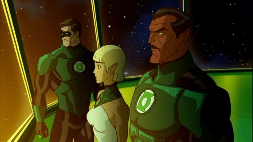 Hal Jordan, Arisia, & Sinestro-Calm Before The Storm! (2)
