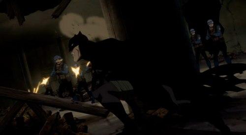 Batman-Under Fire!