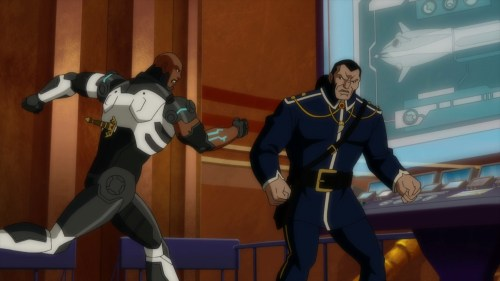 Cyborg-I'm Not Through With You!