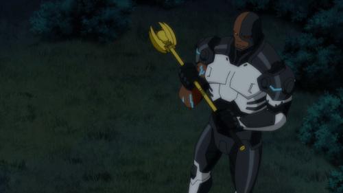 Cyborg-I've Dethroned King!