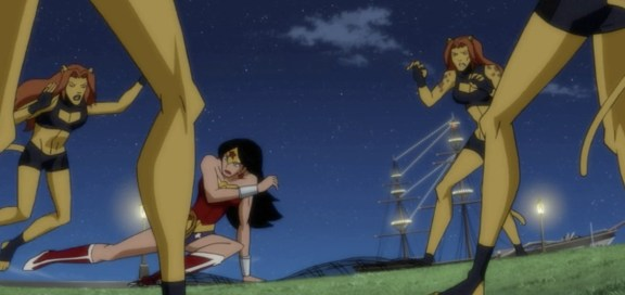 Wonder Woman-Fighting Cheetah, Except Not Really!