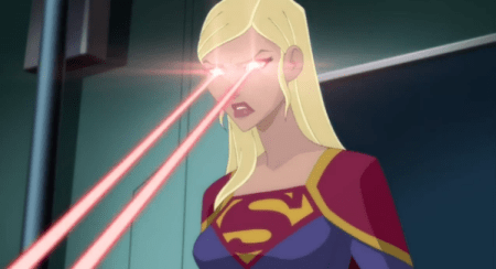 Supergirl-Burning Away A Bad Memory!