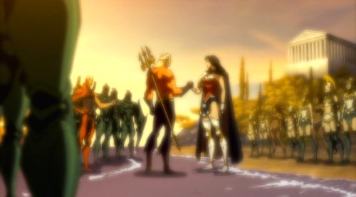 Aquaman & Wonder Woman-An Alliance!