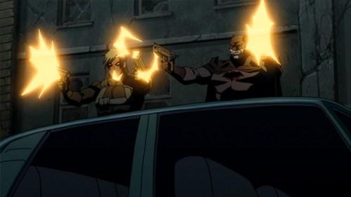 Batman & Grifter-Guns A-Blazing!