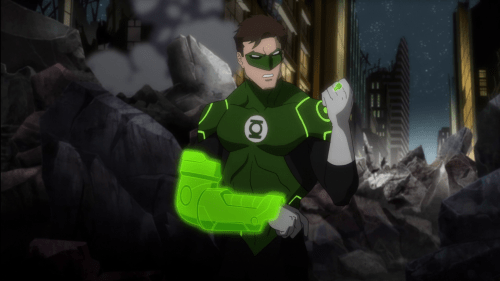 Green Lantern-Wounded In More Than One Way!