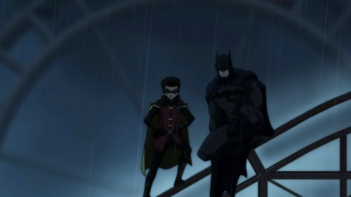 Batman & Robin-Going In!