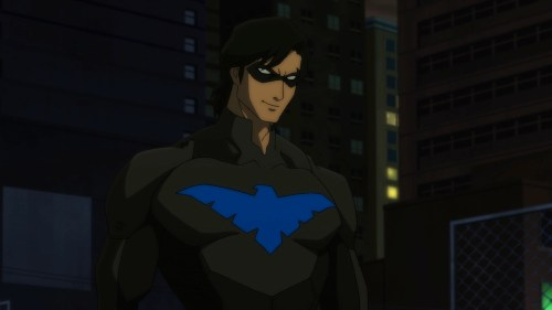 Nightwing-Knows How To Make An Introduction!
