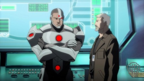 Cyborg-Going Through The J.L.'s Rough Start With Steve!