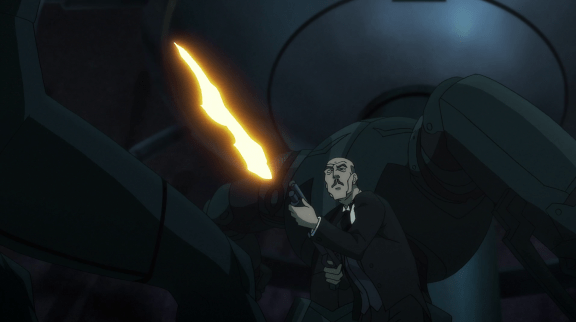 Alfred-Serving Some Firepower!