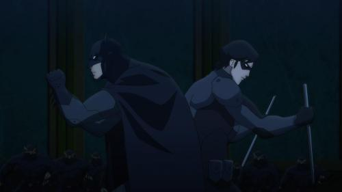 Batman & Nightwing-Olden Days In Danger!