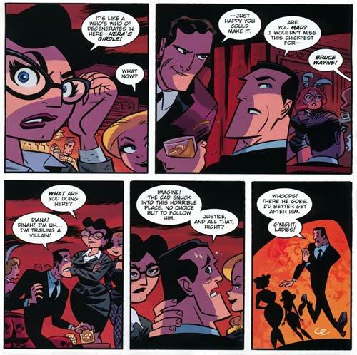 Wonder Woman-Bruce Is Mr. Irony!