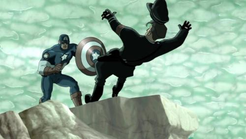 Captain America-Let's Tango For The Last Time, Kleiser!