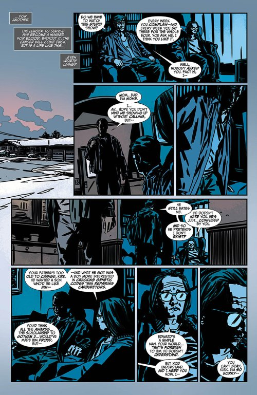 Batman No. 1-Not Exactly A Warm Welcoming! (2)