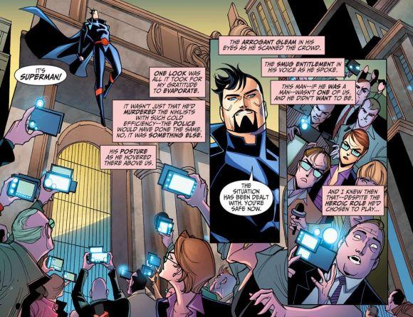 Justice League-Gods & Monsters No. 1-Confrontation!